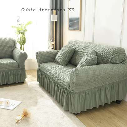 Sofa Covers available in different colours image 7