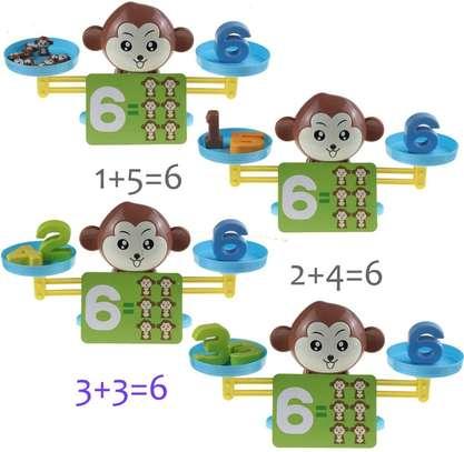 Monkey Balance Math Game for Girls Boys Educational Toys image 2