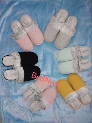 Adult Indoor Fleece Shoes image 1