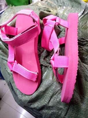 Ladies open shoes image 2