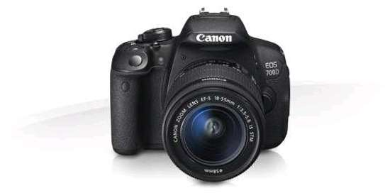 Canon 700D Camera with 18-55mm Lens image 1