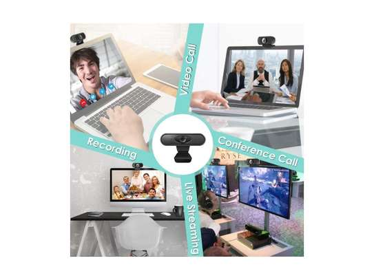 HD 1080P Webcam with Microphone USB Webcams Pro Streaming Computer Camera image 1