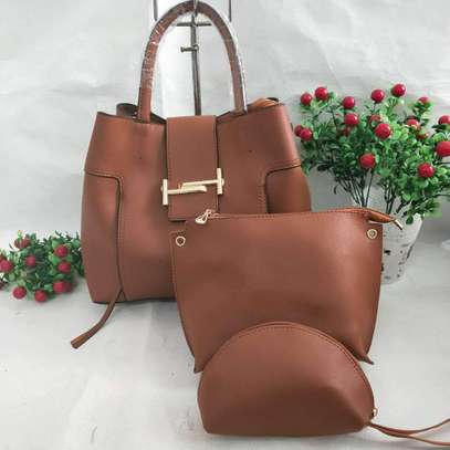 3 in 1 Leather Handbags image 6