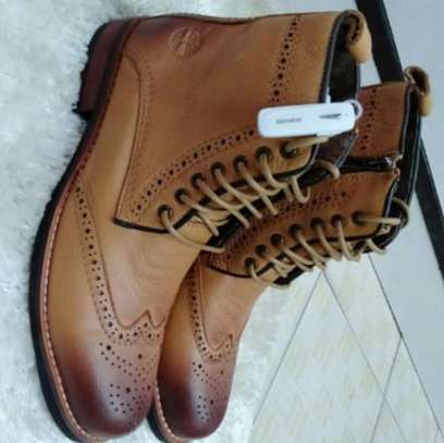 Brown Mens Boots image 1
