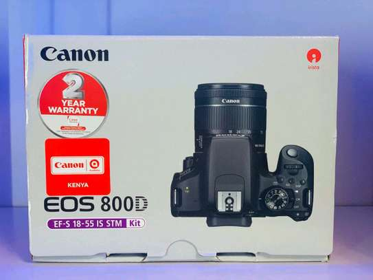 Canon 800D with 18-55mm lens