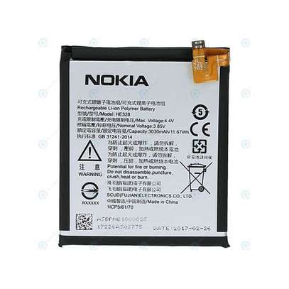 Nokia 8 Battery - Silver image 1