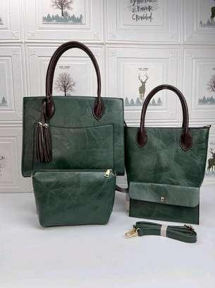 Green quality handbags image 1