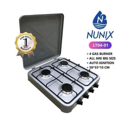 NUNIX 4 GAS BURNER  TABLE TOP COOKER image 1