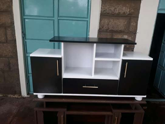 120cm wooden tv stand image 1