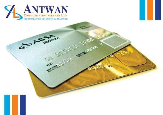 Embossed and Encoding ID Cards image 2
