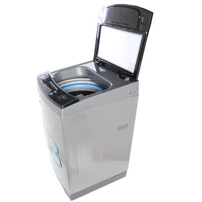 RAMTONS TOP LOAD FULLY AUTOMATIC MAGIC CUBE 12KG WASHER + FREE PERSIL POWDER- RW/136 image 2