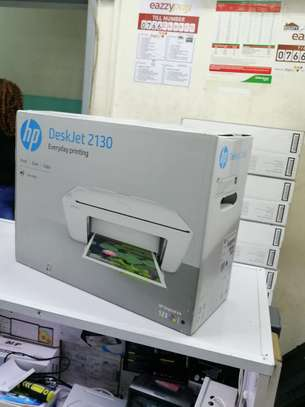 HP DeskJet 2130 All-in-One Printer White image 1