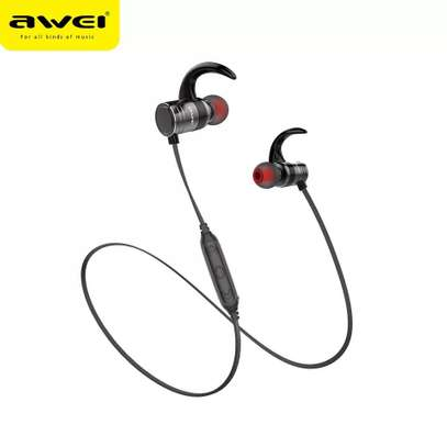 Awei AK7 Water-proof Magnetic Adsorption Wireless Bluetooth Earphones image 5