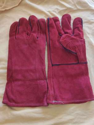 Leather Gloves For Construction And Welding image 2