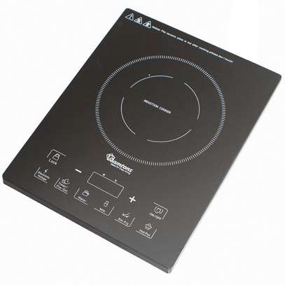 INDUCTION COOKER +FREE NON STICK 24 CM PAN INSIDE BLACK image 1