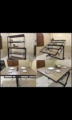 Convertible Table into Shelve image 3