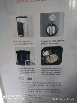 Juice extractor image 2