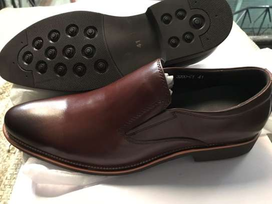 Men's Official Italian Leather Shoes with rubber sole image 7