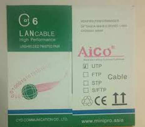 AICO CAT 6 Cable 305Mtrs