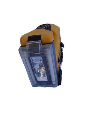 Rechargeable inflator and spotlight lantern combo