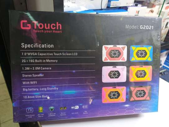 GTouch 7 RAM 2GB, 16GB ROM Kid Tablet PC, G2021 image 3