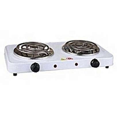 Electric hot plate - double