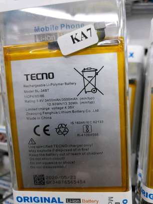 Tecno ka7 original battery image 1