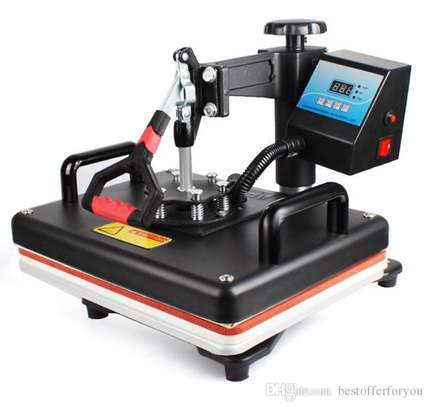 8 in 1 Combo Heat Press Machine Sublimation Heat Press Heat Transfer Printer For Mug/Cap/T shirt image 3