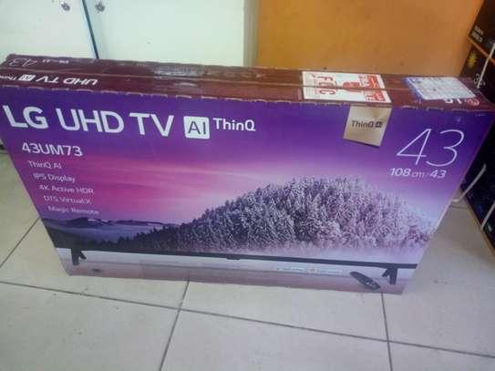 """LG 43"""" smart uhd tv"""