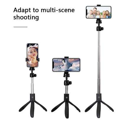 K05 Selfie Stick Tripod Stand 4 in 1 Extendable Monopod Bluetooth Remote Phone Mount for iPhone X 8 Android Gopro image 7