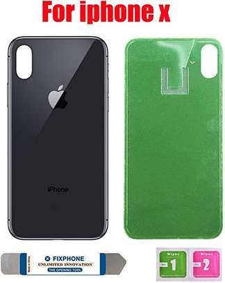 Battery Cover Replacement Back Door Housing Case For iPhone X/Xs image 3