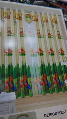 Kids cartoon themed curtains image 8