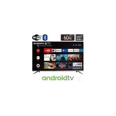 "Skyworth 43E20 43"" Frameless AI Full HD Smart Android LED TV image 1"