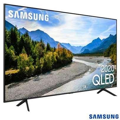 "Brand new Samsung 75"" smart Qa75Q60Tau 4k QLED tv image 1"