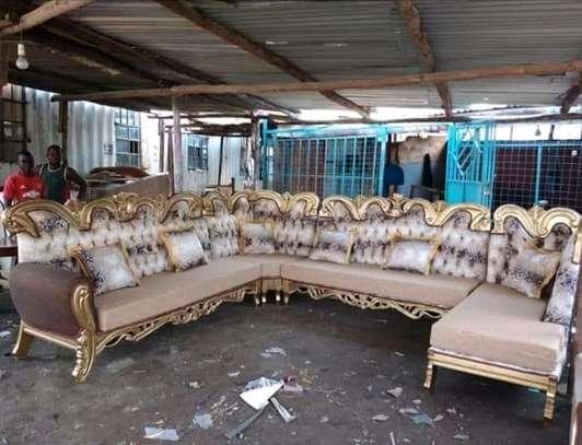 Antique L-sofa/U-sofas (5/7/9 seaters) image 1