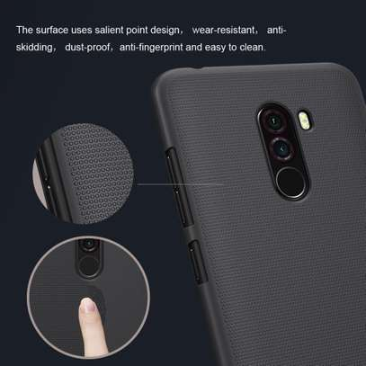 NILLKIN Super Frosted Shield Back Cover For Pocophone F1 image 4