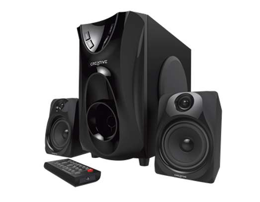 CREATIVE SBS e2400 2.1 Speakers With FM image 1