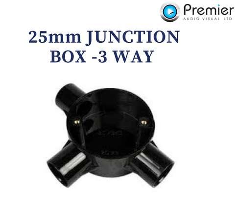 Metsec Junction Box 3way 25mm image 1