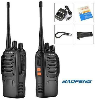Baofeng BF-888S Radio Walkie Talkie Intercom 2 Pieces image 1