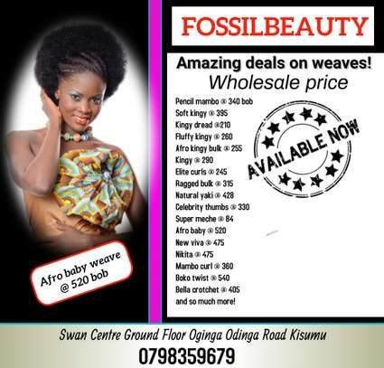 Fossilbeauty Opens up a New Store in Kisumu image 7