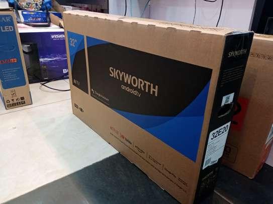 Skyworth 32 32E20 LED Smart Android Frameless HD TV image 1