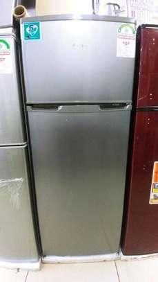 Hisense fridge double door 218 liters image 1