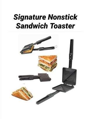Signature nonstick sandwich toaster image 1