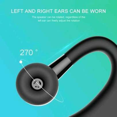 Generic V9 Ear Wireless CSR Bluetooth Headset, Hands Free With Mic For And Android WWD image 4