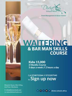 Professional Waiter & Barman Training