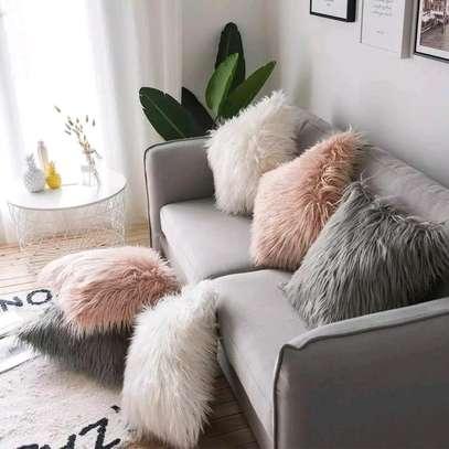 Fur pillow image 2
