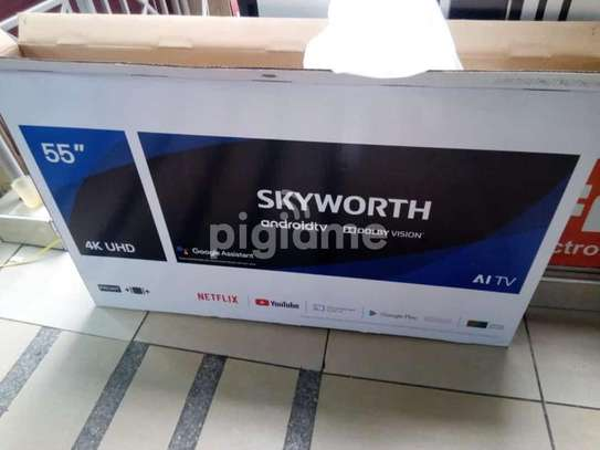 55 inch skyworth smart Android TV image 1