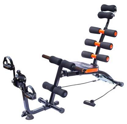 Six Pack Care AB Bench With Pedal image 1
