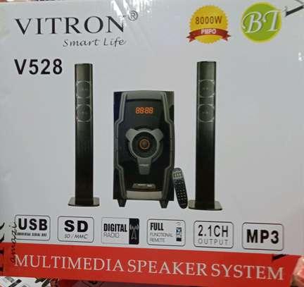 V528 Bluetooth Subwoofer tallboy/soundbar system image 1
