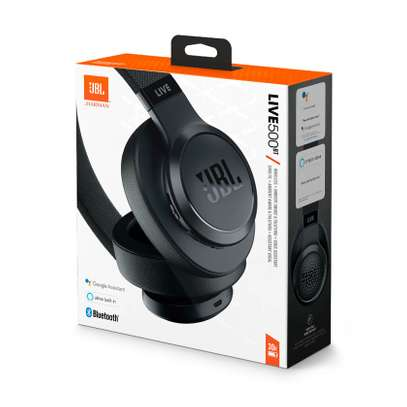 JBL LIVE 500BT Wireless Over-Ear Headphones with Voice Assistant image 2